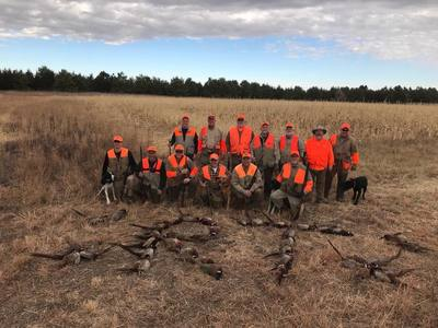 Rooster Tales pheasant hunting guide service and lodge